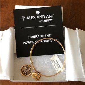 """Alex and Ani """"H"""" bracelet"""